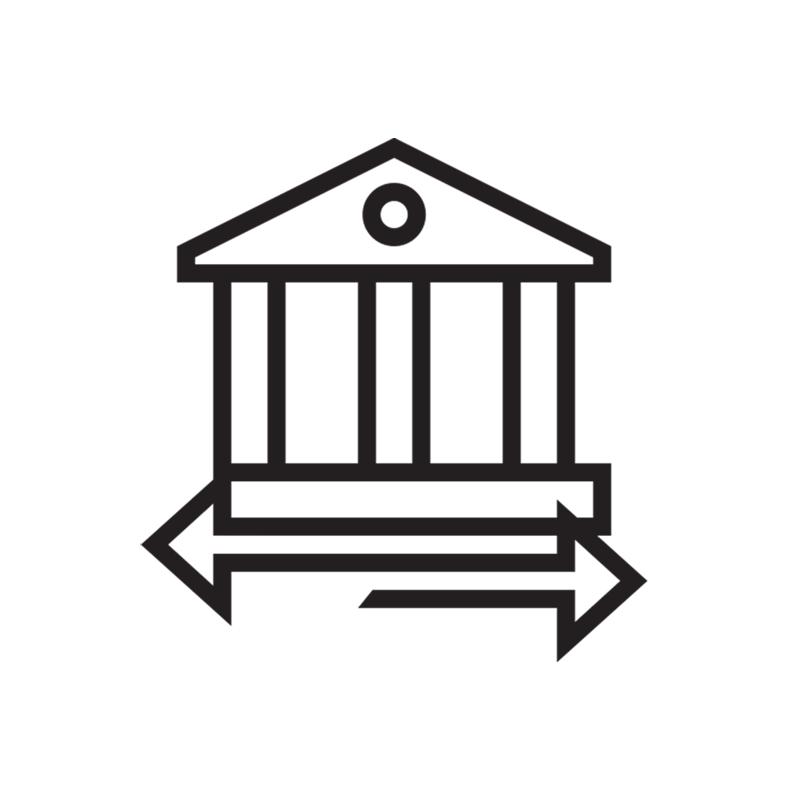 icon bank transfer