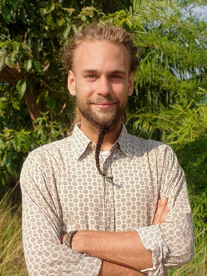 Portrait of Lukas Helebrandt from Green Steps
